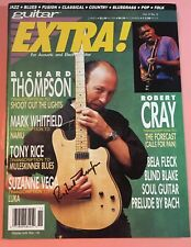 RICHARD THOMPSON Signed Cover of Guitar Extra! Summer 1991 Magazine Issue