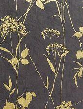 Silhouette Floral Wallpaper Foils Leaf/Flower Wallpaper 176-65506