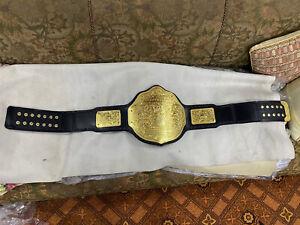 NEW WWE Big Gold World Heavyweight Wrestling Championship Belt
