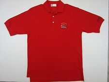 Slazenger Short Sleeve Ryder Cup The Country Club Red Golf Polo Shirt Large