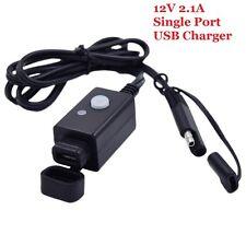 Chargeur Prise USB Guidon Moto Vélo Etanche pour Téléphone Mobile GPS MP3