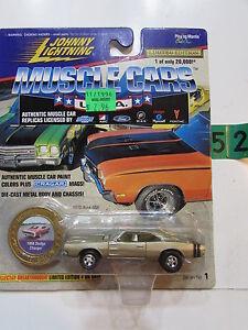 Johnny Lightning Músculo Coches Eeuu 1968 Dodge Cargador