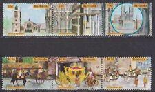 Elizabeth II (1952-Now) 6 British Postages Stamps