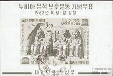 South-Korea block182 fine used / cancelled 1963 nubian Monuments