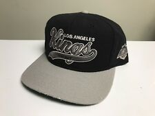 Vintage Los Angeles Kings Starter Script Snapback Hat Cap Nhl 100% Wool Arch Nwa