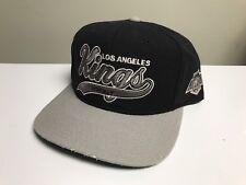 Vintage Los Angeles Kings Starter Script Snapback Hat Cap Nhl 100% Wool Arch Nwa