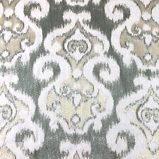 ThresholdAbstract GeometricFine Satin Weave Cotton Fabric Beacon Hill