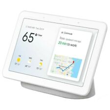 New Google Home Nest Hub Chalk White Smart Assistant Still in Shrink Wrap