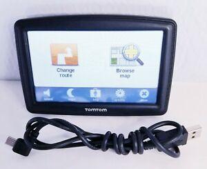 """TomTom Model 4EF00 5"""" Inch GPS Excellent Tested Works"""