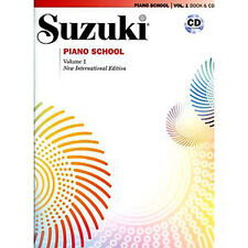 Suzuki Piano School Intl Edition Book and Cd - Volume 1