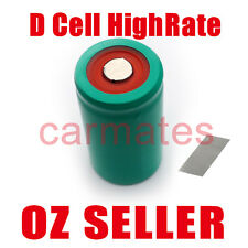 D Cell Battery For Vacuum Cleaner RC toy Remote control plane Tools 8Ah NiMH NEW