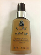 Oil Of Olay Total Effects age defying Liquid Makeup Foundation DEEP HONEY #82.