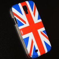 Cubierta De La Caja Para Samsung Galaxy S4 i9500 Bandera Inglaterra + Película