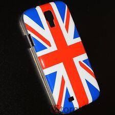 Cover Custodia Per Samsung Galaxy S4 i9500 Bandiera Inghilterra + Pellicola