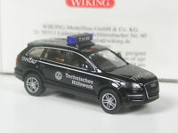 TOP: Wiking Serienmodell Audi Q7 THW Lauf in OVP