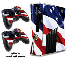 Skin Decal Wrap for Xbox 360 Slim Gaming Console & Controller Xbox360 Slim S&S
