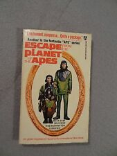 ESCAPE FROM THE PLANET OF THE APES Jerry Pournelle AWARD BOOK 1973 AN1420 PB