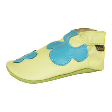 BOUMY CHAUSSURES BÉBÉ 17-21 NOUVEAU 30€ pantoufles d'enfants semelle souple cuir