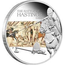 Tuvalu 2009 $1 Silber - Schlacht von Hastings
