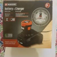 PARKSIDE  BATTERY & CHARGER  -12V A2 -Lithium-ion 2AH - WITH  3YRS WARRANTY