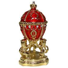 Oeuf Rosebud, Bouton de Rose, inspiration Oeuf Faberge, collection Oeuf Rosebud