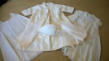 1960's Collectible Marshall Field Christening Coat & Dress Set