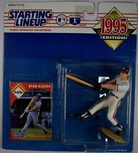 1995 Starting Lineup Baseball Figure Ryan Klesko w/Card #79