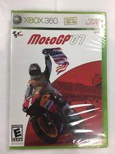 MotoGP '07 (Microsoft Xbox 360, 2007) Brand New Factory Sealed