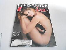 AUG 1995 ESQUIRE mens fashion magazine CINDY CRAWFORD