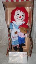 DAKIN RAGGEDY ANN DOLL AND BEAR LTD EDIT 85TH BIRTHDAY ANNIVERSARY 2000 NIB