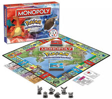 Monopoly Board Card Game For Children Kids Learning Smart Pokemon Family Gifts