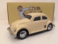 VW Kafer HA31 Tin Plate Cream with Key 1:43 Scale New