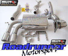 Milltek Audi S3 Sportback Exhaust System Turbo Back Non Res Inc De Cat Downpipe