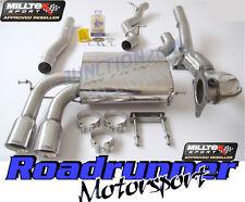 Milltek Audi S3 Sportback Exhaust System Turbo Back Non Res Inc De Cat Downpipe