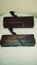 New Listing2 Antique Wood Molding McSwaine Match Set Planes Carpentry Tool Woodwork Molding