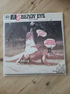 Beady Eye Full Signed Different Gear Still Speeding Vinyl Liam Gallagher