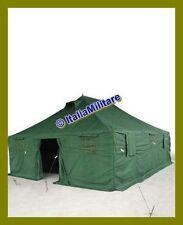 Tenda Militare da Campo 50 MQ 10 mt x 5 mt Protezione Civile e Campeggio