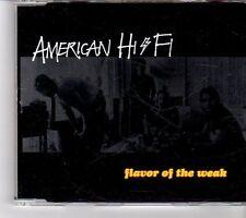 (FP215) American Hi-Fi, Flavor Of The Weak - 2001 DJ CD