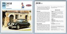 Jaguar - XK140 - 1954-57 High Performance Collectors Club Card