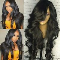 Deluxe Body Wave 360 Full Lace Wig Malaysian Real Human Hair Wigs Pre Plucked gi