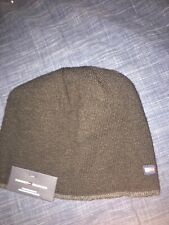 NWT MENS TOMMY HILFIGER WINTER CAP / BEANIE~BLACK~OS $42
