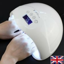 48W SUN5 Plus LED UV Nail Lamp Light Gel Cure Nail Dryer UV Lamp Led UK Plug