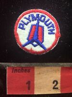 Quite Small, Vintage PLYMOUTH AUTOMOBILE Car Advertising Patch C761