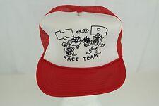 Vintage Mesh Trucker Hat Cap - H and R Race Team - Taz & Yosemite Sam Racing