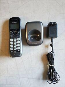 UNIDEN DECT1480-4 DECT 6.0 PHONE DCX14 CHARGING CRADLE BASE & ADAPTER & BATTERY