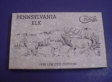 Case Xx 1990 Limited Edition Pennsylvania Elk #242 Rare Vintage Collectible
