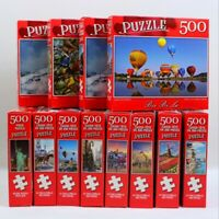 Lot of 2 Jigsaw Puzzles 500 Pieces Jigsaw Puzzles