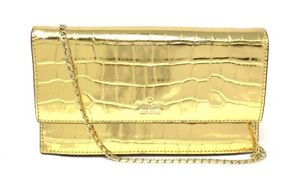 Kate Spade White Rock Road Brennan Warm Gold Wristlet Bag PWRU6477 $198