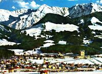 Wintersportplatz Sonthofen , Ansichtskarte, 1972 gelaufen