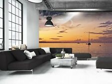 Beach Landscape  Photo Wallpaper Wall Mural DECOR Paper Poster Free Paste